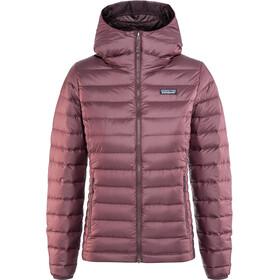 Patagonia Down Sweater Hoody Women dark currant